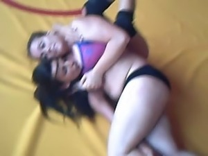 pussy wrestling videos