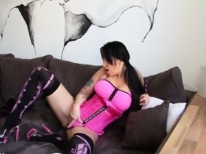 german girl with video