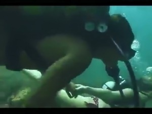 sex underwater video