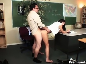girls naked in class