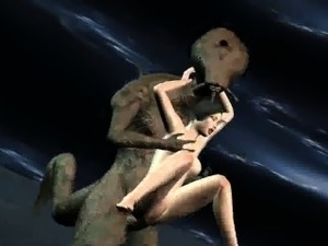 alien sex with monster dick