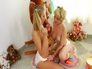 teenage girls wet diaper