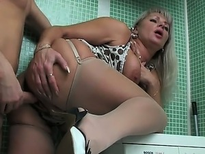 porn mature russian and young man
