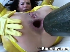 latex slave porn videos