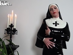 big tits nun sex movies