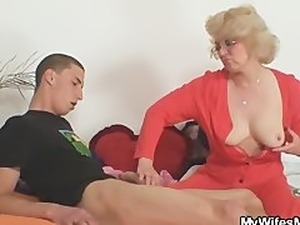 cheating wife has orgasm