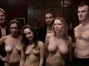 petite brunetter undressed and gangbanged movie