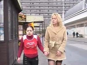 Girls ass in public