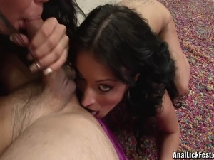 ass licking lesbien vids