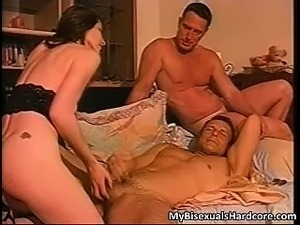 Sexy brunette slut gives a helping hand part3