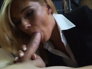 blonde hotel worker paid for sex