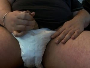 diapered girl video