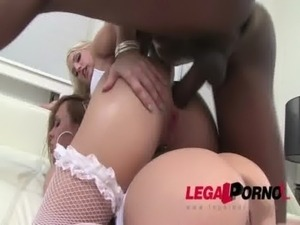 oil anal interracial