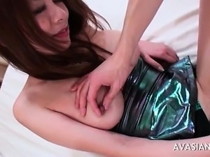 Horny Man Enjoys Fingering Hard An Asian TeenPussy