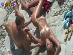 amateur girls beach