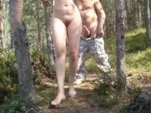 Nude public video