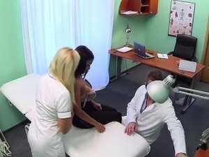 Hot nurse boobs