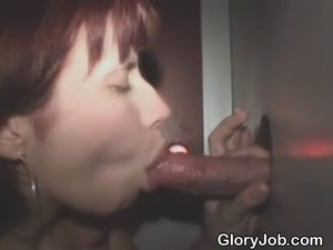 black girls love the glory hole
