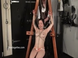 asian girl rope bondage