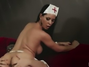 Ebony nurse sex