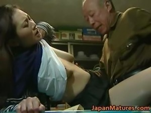 japanese mom fuck son