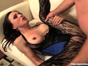 nylon and girdle lesbian sex