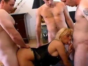 gang bang german sex