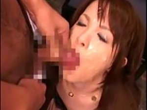 schoolgirl asian bukkake