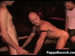 Sexy nasty kinky bondage gay orgy part4