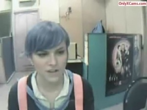 webcam girl metallica