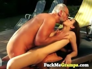 mature grandpa black cock