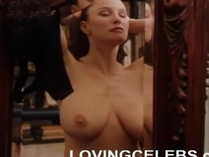 Big asian breast massage