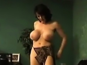 sexy striptease boobs