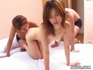 Sweet Asian hot group sex right here