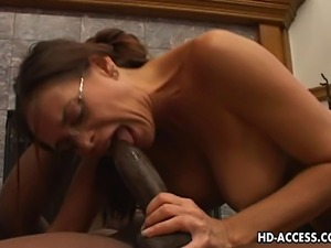 Hot girl in action