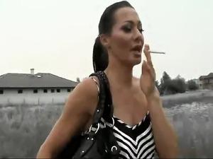 Angelina crow double anal