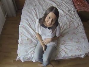 young italian girl brunette video bj