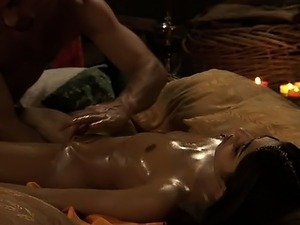 sensual asian massage video