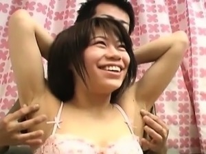 girls armpit lick