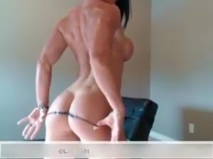 Hot girls stripping in thongs