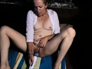 Granny masturbation video