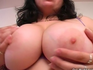 mature white melons dripping black jizz