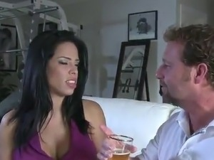 spanish wife fucks black cock