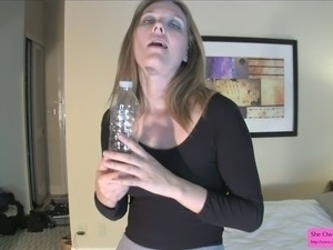 jerking off to big tits videos