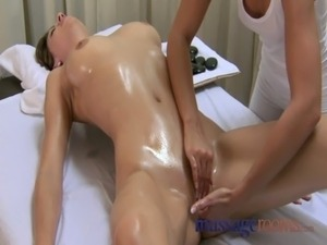 Beautiful breast massage