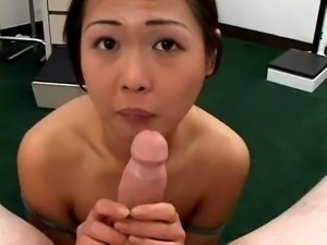young asian first blowjob