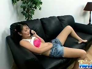 lesbian videos babysitter helps out wife