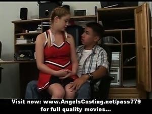 ametuer cheerleader sex videos