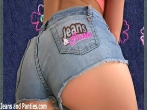 girls ass jeans