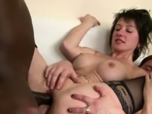 black anal moms